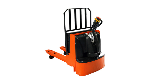 Electric pallet truck view
